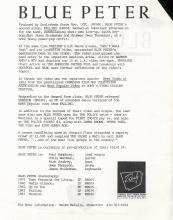 Ready Records Press Release 1983